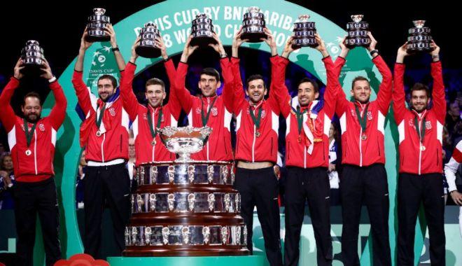 Foto: Partida Croația - Rusia deschide balul în Cupa Davis