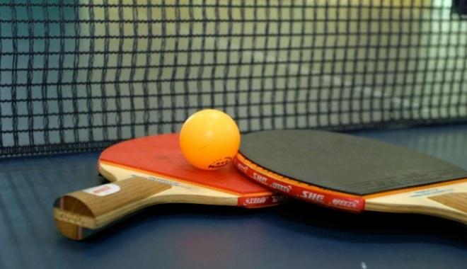 Foto: Echipa feminină de tenis de masă a României, în finala Europenelor de la Luxemburg