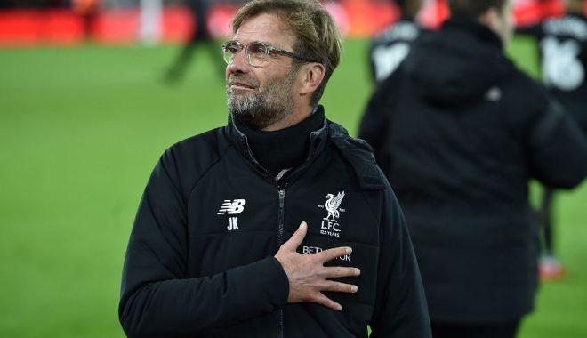 """Foto: """"Este o performanță incredibilă"""", declară antrenorul lui Liverpool, după calificarea în finală"""
