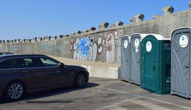 Toaletele publice mobile, interzise.