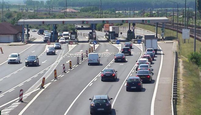 ACCIDENT în apropierea STAȚIEI DE TAXARE FETEȘTI. Trei mașini implicate! - traficrutierfetestistatietaxare-1626613665.jpg