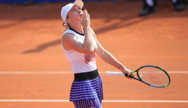 Foto: Tragere la sorţi cu ghinion pentru Simona Halep la turneul de la Roma