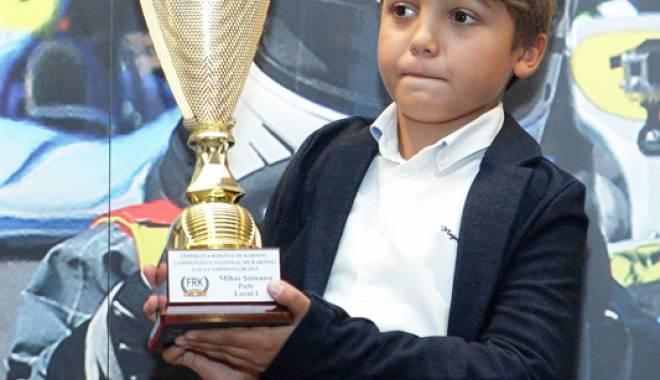 Foto: Un sportiv de la CS Tomis Kart, campion național