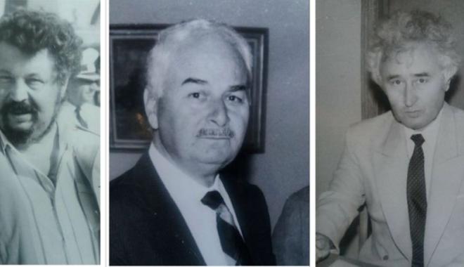 """Foto: Arhiva de Aur """"Cuget Liber"""". Trei mari profesori. Amintiri cu Gheorghe Dumitrașcu, Puiu Enache și Ioan Popișteanu"""