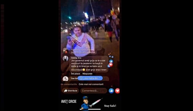 Polițiștii fac un apel către protestatari: Fără violență în timpul protestelor! - untitled-1617112325.jpg