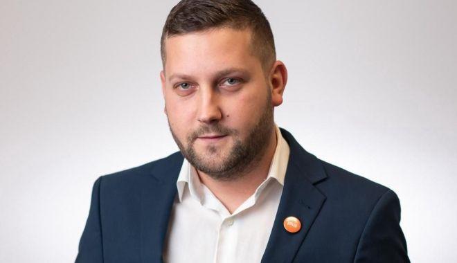 Foto: Cosmin Scripcariu, candidatul USR-PLUS pentru Primăria Murfatlar