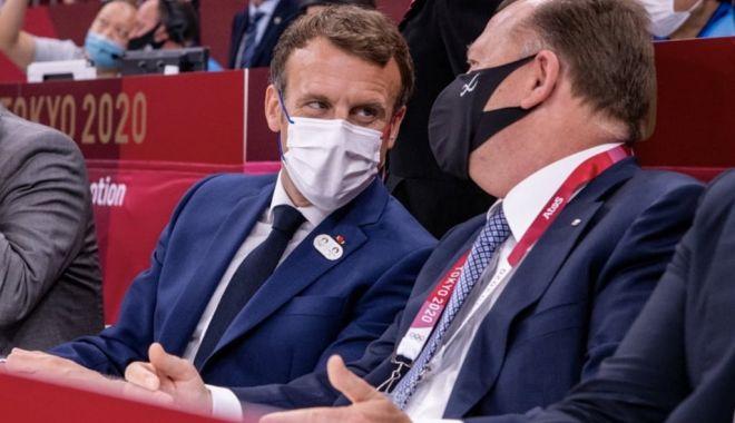 Marius Vizer, vizită neașteptată din partea lui Emmanuel Macron - vizer-1627123704.jpg