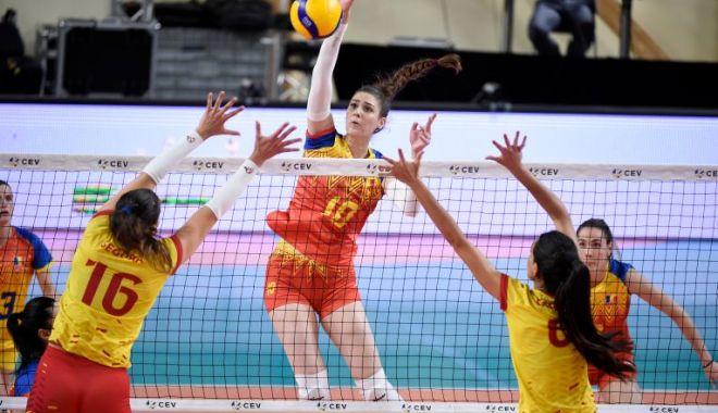 Voleibalistele tricolore, revenire senzaţională în meciul cu Spania, din Golden League - voleibalistele-1622984660.jpg