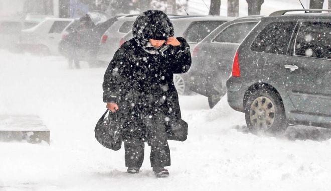 UN NOU VAL DE FRIG în România. Zonele în care meteorologii anunță NINSORI ȘI GER - zapada-1578128725.jpg