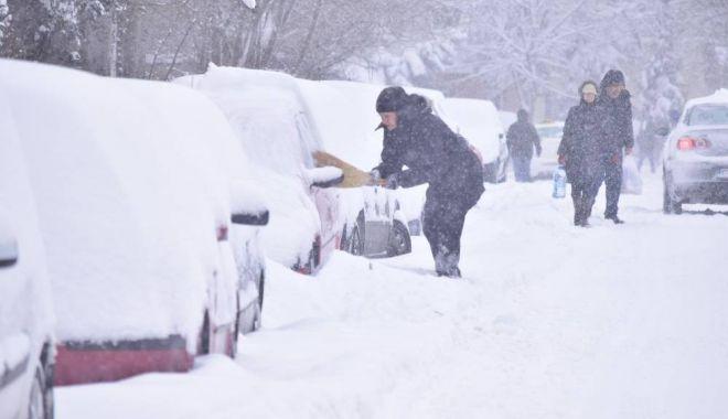 O nouă avertizare de la meteorologi. Ninsori moderate şi ger, la Constanţa - zapada-1610526660.jpg