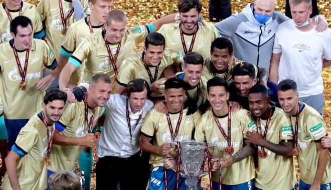 Foto: Zenit Sankt Petersburg a câștigat Cupa Rusiei