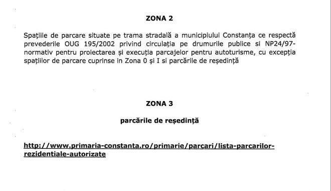 A fost elaborat noul Regulament al Parcărilor la Constanţa! Cât vom plăti pe oră - zona2-1618907272.jpg