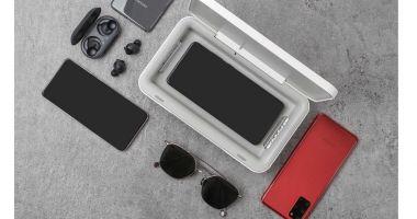 Samsung propune un dispozitiv care îți încarcă și curăță telefonul cu ultraviolete