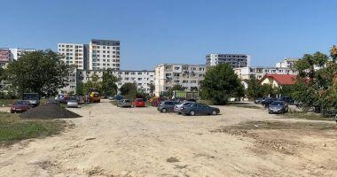 O nouă parcare cu peste 470 de locuri este amenajată pe strada Tulcei