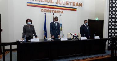 A început ceremonia de învestire a preşedintelui Consiliului Judeţean Constanţa