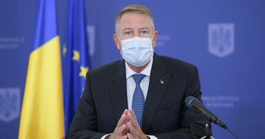 Klaus Iohannis: Să fie clar, nu există nicio intenție de lockdown după alegeri