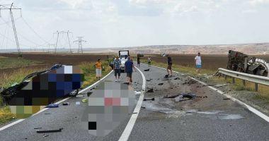 ACCIDENT MORTAL în județul Constanța. Intervine elicopterul SMURD