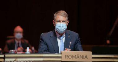 Preşedintele Iohannis a făcut apel la consolidarea coordonării la nivelul UE, la Porto