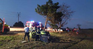 GALERIE FOTO / Accident mortal între Constanța și Valu Traian