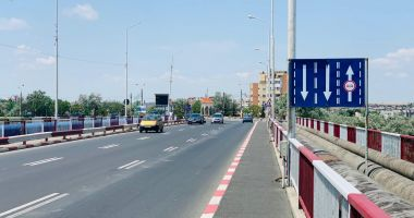 Șoferi, atenție! Noi măsuri privind traficul rutier pe podul Năvodari
