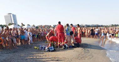 FOTO / Persoană înecată la Eforie Nord. Intervine elicopterul SMURD