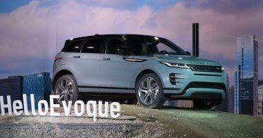 Noua variantă a modelului Range Rover Evoque, lansată oficial la Constanța