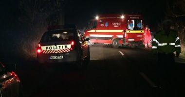 Accident rutier grav în Cernavodă. Doi poliţişti au fost răniţi