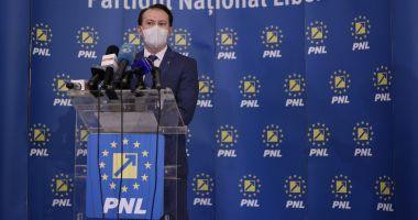 """Premierul Florin Cîţu: """"La Congresul PNL se va purta mască"""""""