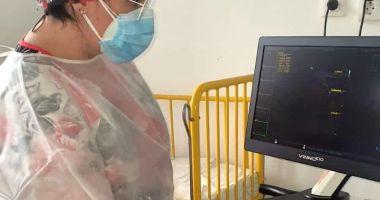 """Asociația """"Dăruiește Aripi"""" a achiziționat un ecograf nou pentru copiii bolnavi"""