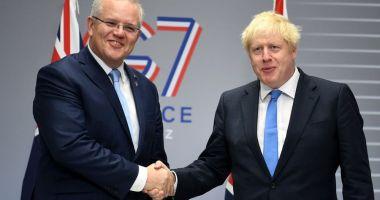 Australia şi Marea Britanie au semnat un acord de liber schimb post-Brexit