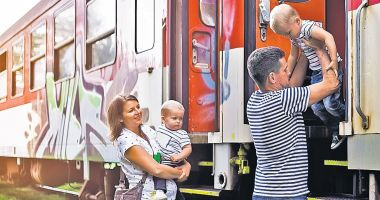 Bilete reduse pe tren pentru copii