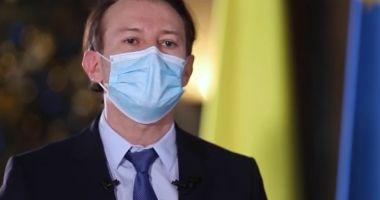 Premierul Florin Cîțu se vaccinează anti-Covid, la ora 12.00