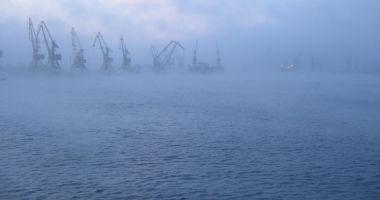 CEAȚĂ DENSĂ LA CONSTANȚA! Manevrele în porturile Constanţa Nord, Constanţa Sud-Agigea şi Mangalia au fost sistate