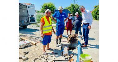 Autorităţile locale din Năvodari se implică în reparaţia reţelelor de canalizare