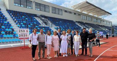 GALERIE FOTO / Ilie Floroiu, prezent la inaugurarea stadionului de atletism din Craiova