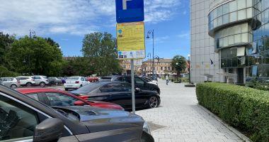 Începe taxarea locurilor de parcare din Constanța. Prima tarifare, din 18 iunie!
