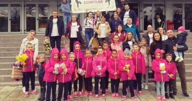 Gimnastele de aur din Cumpăna au luat cu asalt podiumul Cupei României