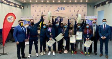 Haltere / Medaliaţii la Europenele de la Moscova, felicitaţi de ministrul Tineretului şi Sportului
