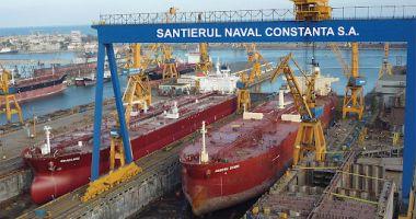 Iată câte nave străine sunt în reparații în porturile maritime românești