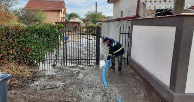 Inundaţii în judeţul Constanţa. Intervin pompierii