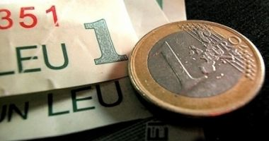 Euro a câștigat 0,04% în lupta cu leul