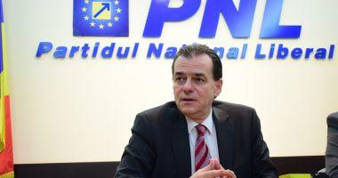 Ludovic Orban candidează pentru un nou mandat de preşedinte al PNL