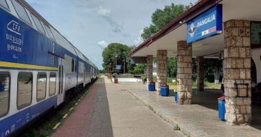 "Senatorul Remus Negoi: ""Trenurile vor circula mai repede pe ruta Constanța – Mangalia"""