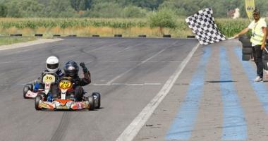 Nicio etapă fără emoții în Campionatul Național de karting! Frații Onoaie, curse excelente