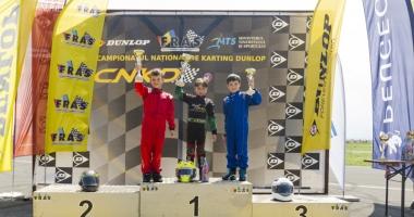 Spectacol realizat de constănțeni  în Campionatul Național de karting