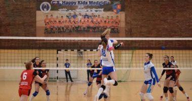 O nouă înfrângere pentru voleibalistele de la CS Medgidia