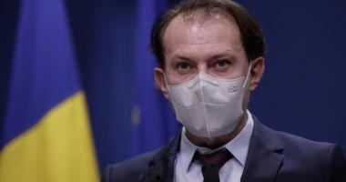 Florin Cîțu: Singura soluție de a reveni la normalitate este vaccinarea