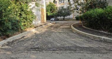 Constănţenii de pe aleea Berzei vor beneficia de o nouă parcare
