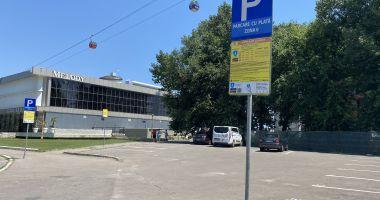 Parcare la liber în staţiunea Mamaia. Taxa nu mai este obligatorie în-afara sezonului estival