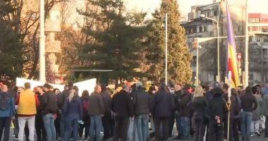 Noi proteste la Bucureşti. Mii de persoane, împotriva restricţiilor pandemice